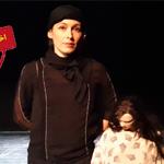 بازیگر و عروسک گردان نمایش آنتیگونه