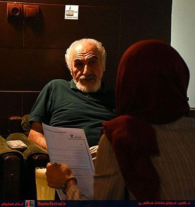 مصاحبه با محمد ساربان - تئاتر فستیوال