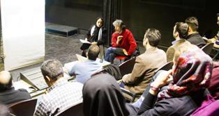 گزارش اولین روز کارگاه تخصصی نور جشنواره تئاتر فجر2