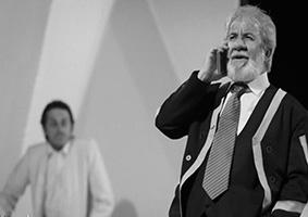 """مسعود کرامتی در نمایش """" هاردوی """""""